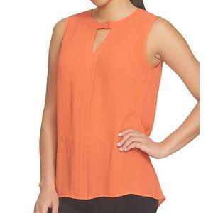 🍄 Chaus Bar Atomic Orange Blouse. Size S